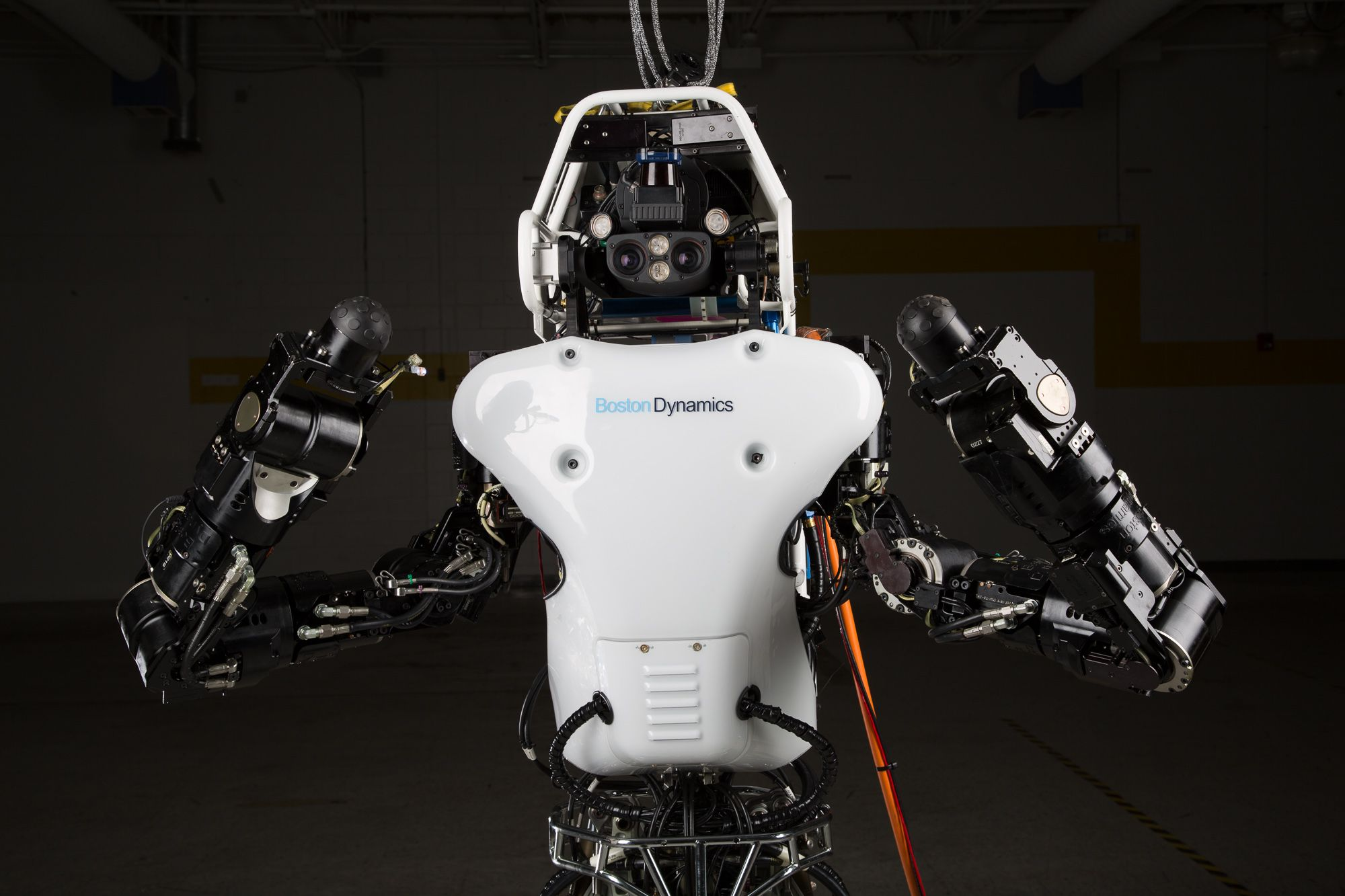 Atlas Drc Robot Is 75 Percent New Completely Unplugged