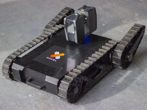 Doxel's lidar-equipped robot for construction site monitoring
