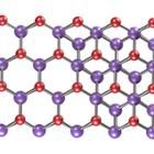 Schematic of the mono- and bilayer crystal structures. Purple and red spheres correspond to indium and selenium atoms, respectively.