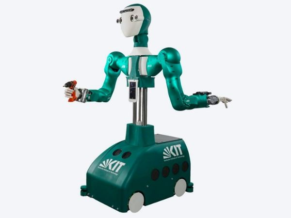 Photo of Armar or related robot.