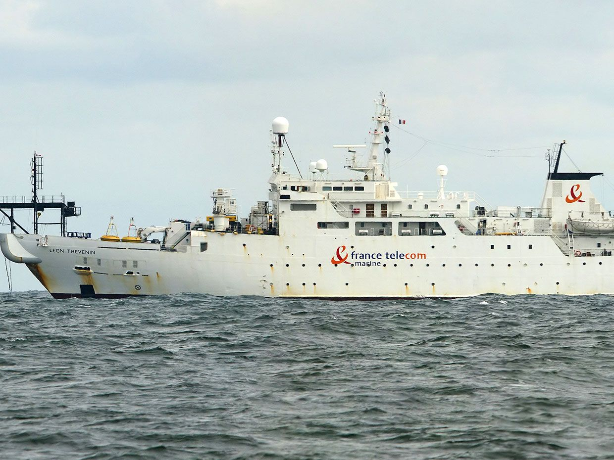 Submarine Cable Repairs Underway in South Africa