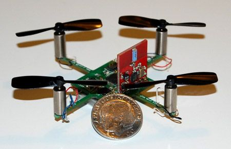 CrazyFlie micro quadcopter