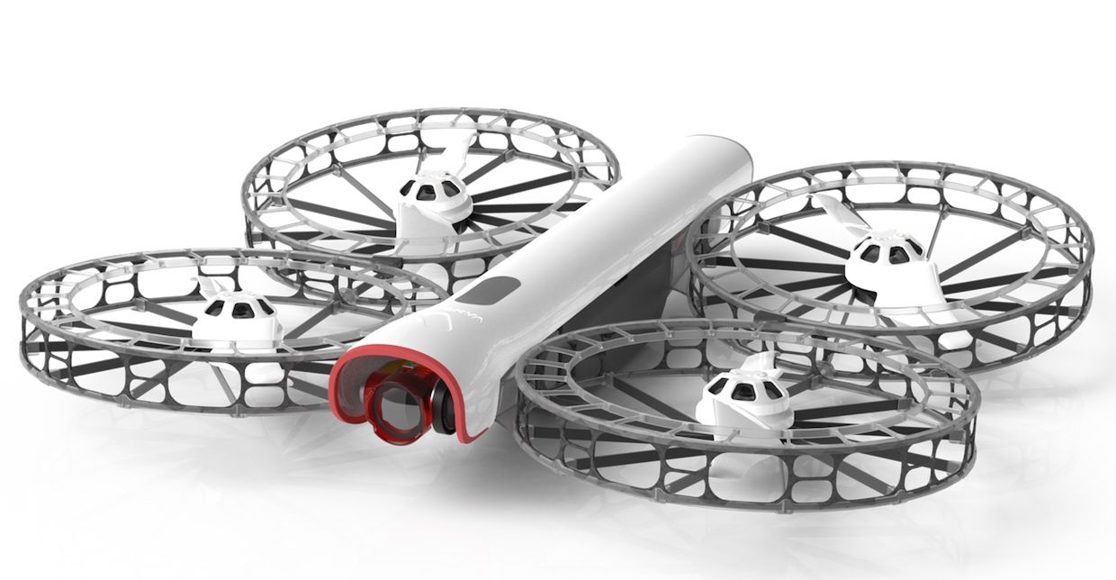 Vantage Robotics' Snap drone weighs just 620 grams and is held together with magnets, allowing it to come apart on impact.