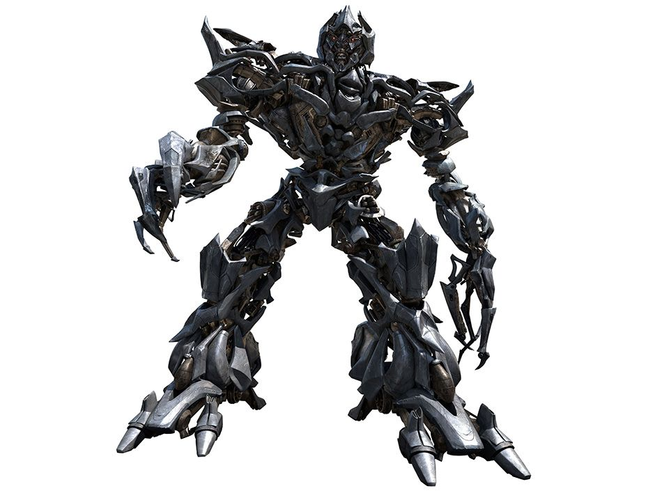 <b>Transformers:</b> (2007) Megatron leads a vicious band of alien robots determined to rid the earth of pesky humans.