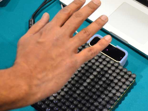 ces  ultrahaptics ultrasonic tactile display  virtual controls ieee spectrum