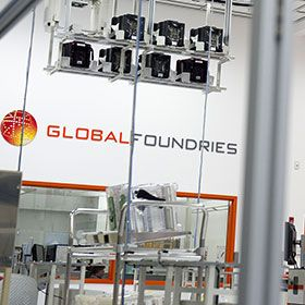 2012 photograph of Global Foundries' Malta, NY location.