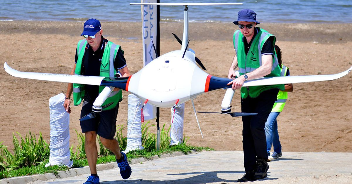 Video Friday: Africa's Lake Kivu Drone Challenge