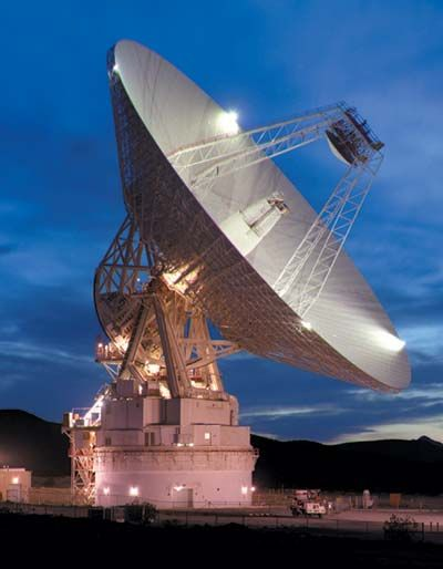 photo of radar dish