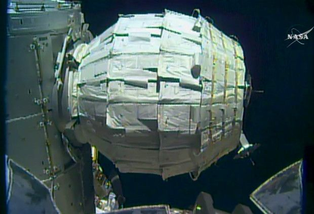 On Second Try, NASA Manages to Blow Up Inflatable ISS ...