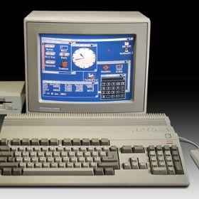 The Amiga computer.