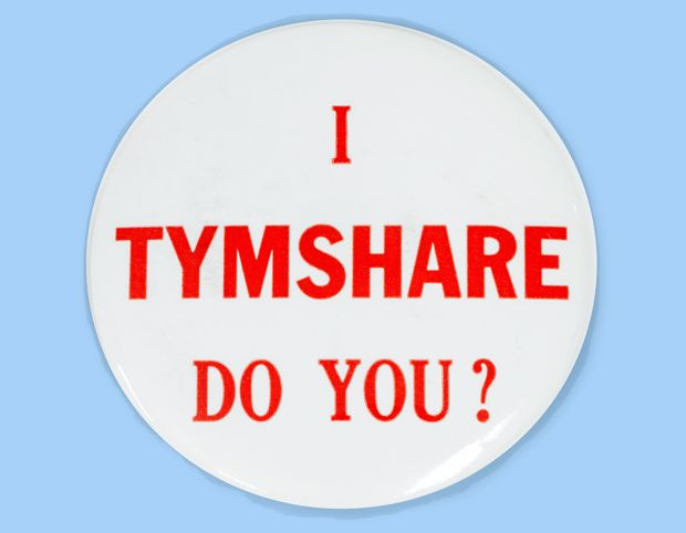 TYMSHARE button
