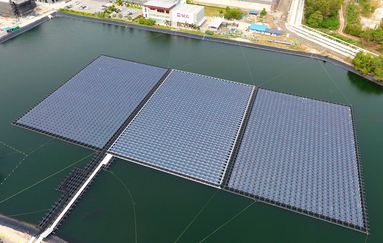 Thailand Prepares To Install Floating Solar Plants At Eight