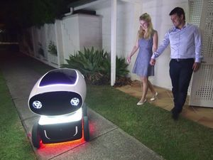 IMG - Video Friday: Autonomous Pizza Delivery, Handwriting Robot, and ROS Master