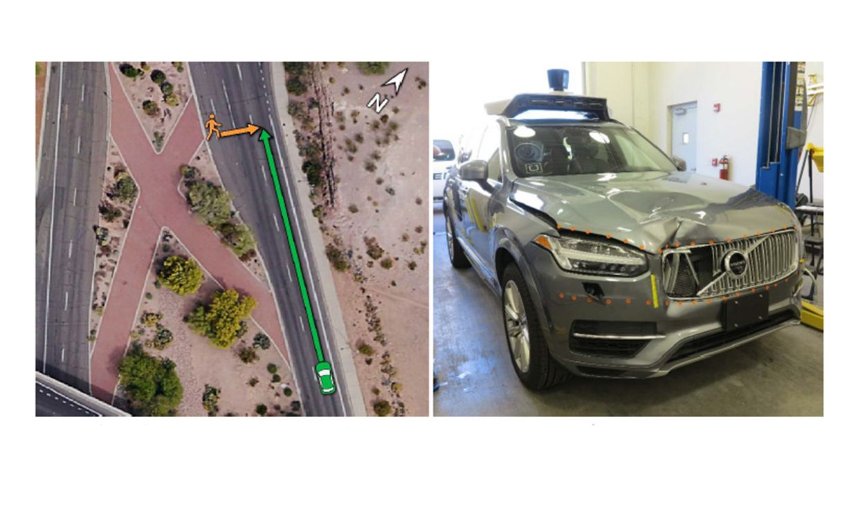Image result for Uber's Self-Driving Volvo XC90 SUV Crashes In Arizona
