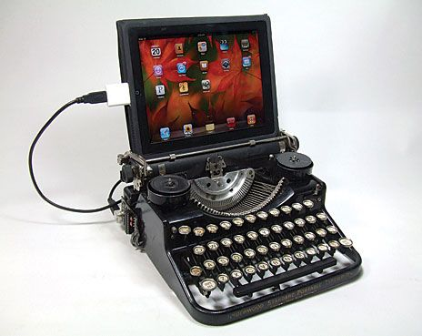 underwood with ipad
