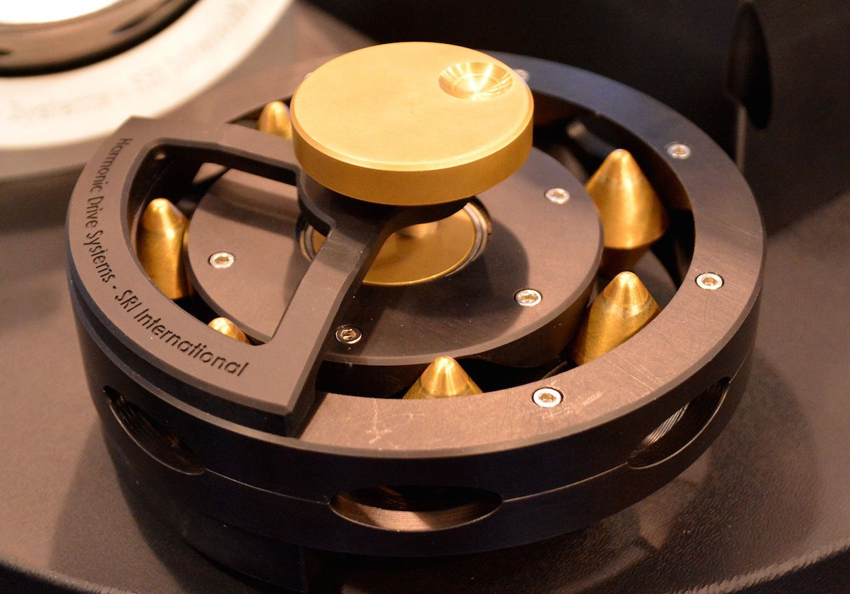 Sri Demonstrates Abacus The First New Rotary Transmission