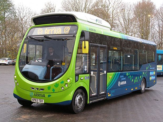 Another Transit System Tests Inductive-Charging Buses