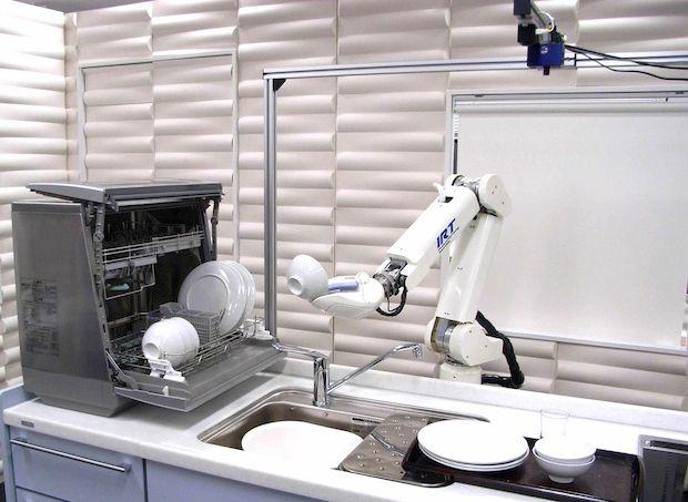 The Kitchen Assist Robot (KAR) developed at the University of Tokyo's JSK Lab.