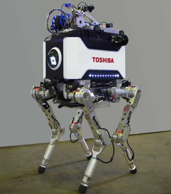 Toshiba Quadruped Robot for Disaster Response