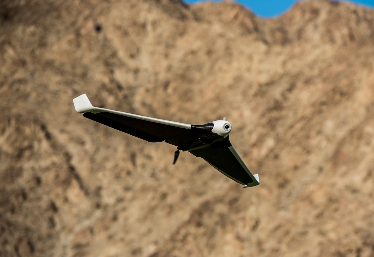 Parrot Disco drone flying