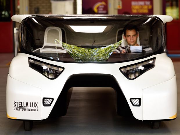 Solar Powered Family Car Generates More Energy Than It Uses