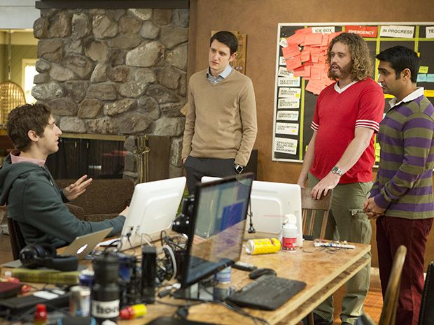 scene from HBO's Silicon Valley