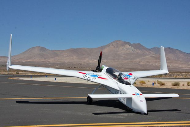 Chip Yate's electric airplane
