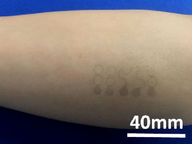 Super-thin graphene-based health monitor is mechanically invisible