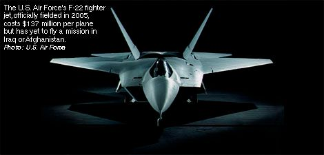 U.S. Air Force's F-22