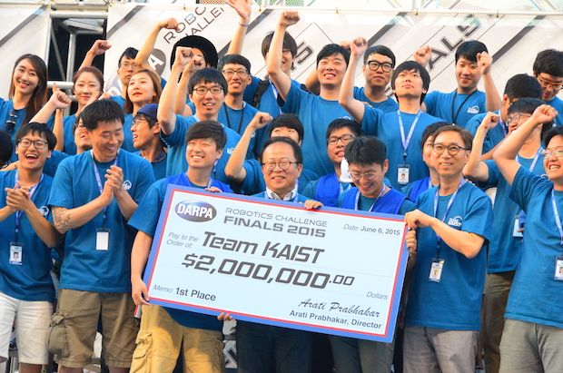 Team KAIST at DARPA Robotics Challenge