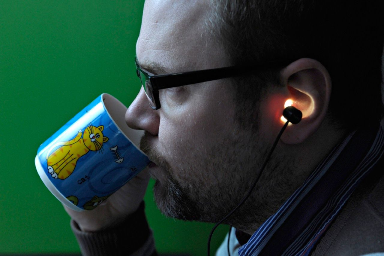 You're going to listen to music anyway… Finnish technology company Valkee has developed earbuds that emit light right where it's needed to relieve the symptoms of seasonal affective disorder, which causes depression during the winter months because sunlight is in short supply. The LEDs in the earphones shine light on the brain through the ear canal, the spot where the skull is thinnest.
