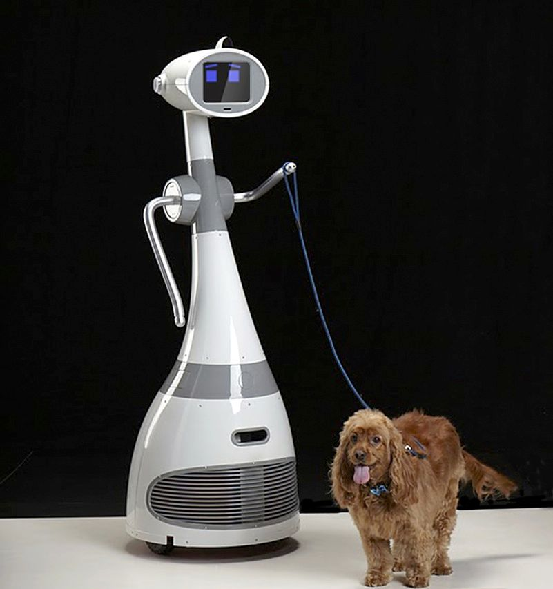 RoboDynamics, of Santa Monica, Calif., is marketing its humanoid robot Luna as a domestic servant capable of walking the dog and serving drinks. Who hasn't, on the hottest and coldest days, wished for a butler, human or automaton, to carry out those chores? The US $3000 robot can be controlled from its 8-inch touch-screen display by voice commands or through its cellular connection.