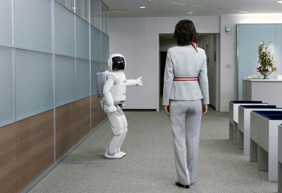 <a href=&quot;http://world.honda.com/ASIMO/&quot;target=&quot;_blank&quot;>ASIMO</a> was created by Honda.