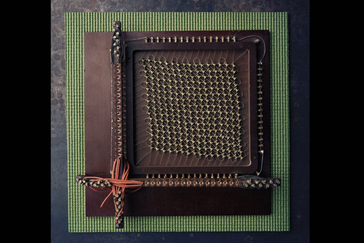 "<strong>256-bit magnetic core memory, circa 1952:</strong> Slow data retrieval and storage speeds limited the utility of early computers. RCA researcher <a href=""http://www.ieeeghn.org/wiki/index.php/Jan_Rajchman"">Jan Rajchman</a>'s solution was a memory array consisting of a wire matrix with doughnut-shaped magnetic cores at each intersection. By applying a current to a given set of horizontal and vertical wires, you could select a specific core and quickly change the direction of its magnetic field."