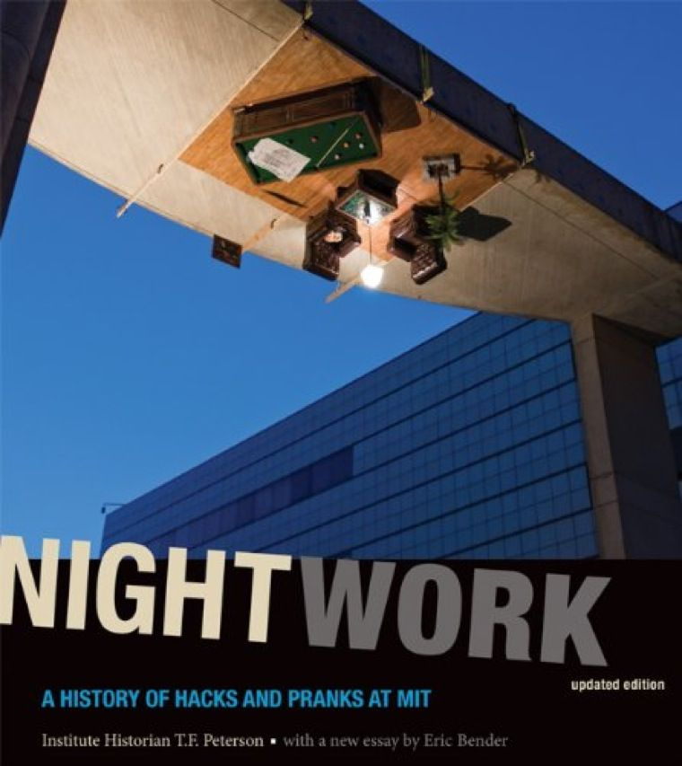 "MIT historian T.F. Peterson, author of <a href=&quot;http://mitpress.mit.edu/catalog/item/default.asp?ttype=2&amp;tid=12456&quot;target=&quot;_blank&quot;>Nightwork: A History of Hacks and Pranks at MIT (MIT Press, 2011)</a>, notes that hacking teaches students ""to work productively in teams, to solve engineering problems, and to communicate to the larger world."" The best hacks are also, in their elegance, delightful to contemplate. With MIT Press's kind permission, we present a sampling from Nightwork."