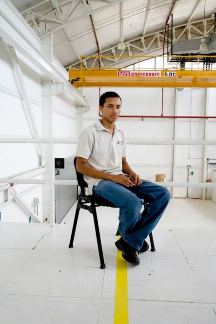 "AGAINST THE ODDS: Carlos Martinez Castillo, a native of Nicaragua, was working at a Costa Rican gas station when Ronald Chang Díaz showed up asking if anyone wanted a career in rockets. ""I worked at a gas station when I was young, and I wanted to help one of those guys get a good job,"" Chang Díaz recalls. Castillo manages the machine shop at Ad Astra and studies information technologies at a nearby university."