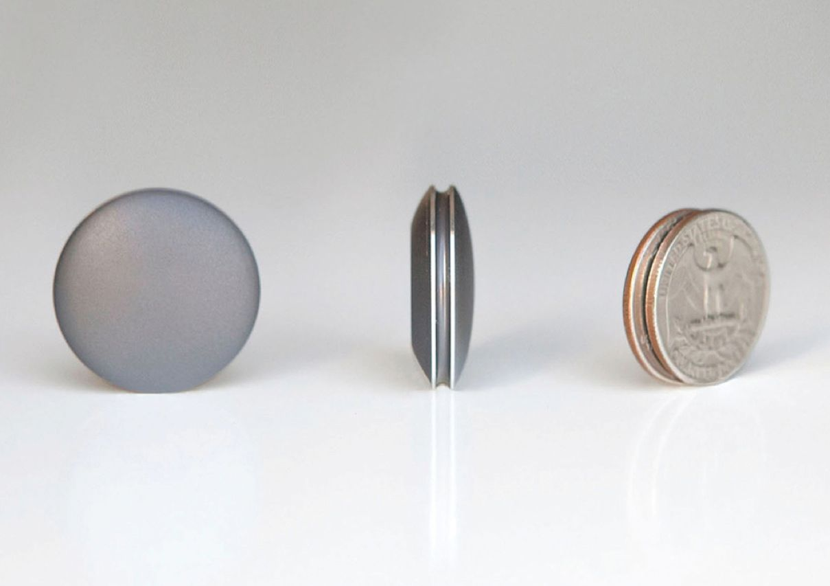Rather than introduce yet another wristwatch-based location and fitness tracker, the makers of the Misfit Shine created a waterproof gadget about the size and thickness of a couple of U.S. coins. The battery-powered device, which talks to any iOS 5 device via a proprietary data-transfer technique, keeps track of stats for walks, runs, swims, and bike rides. The Shine, which will be available in March 2013, will sell for US $99.