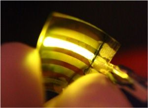 University of Umea light-emitting electrochemical cell.