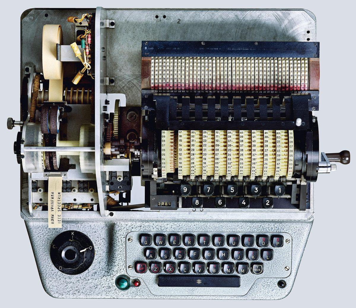 The HX-63 cipher machine