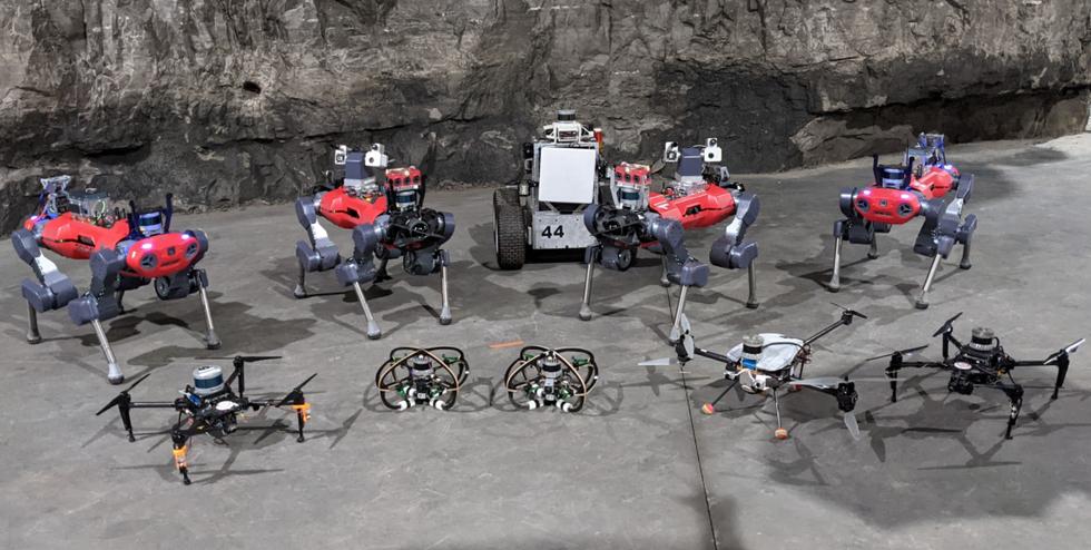CERBERUS robots