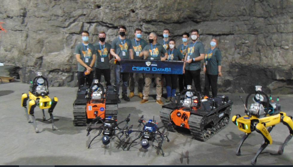 Team CSIRO Data61 robots