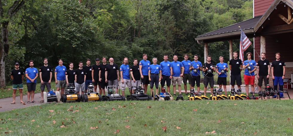 Team CTU-CRAS-NORLAB robots