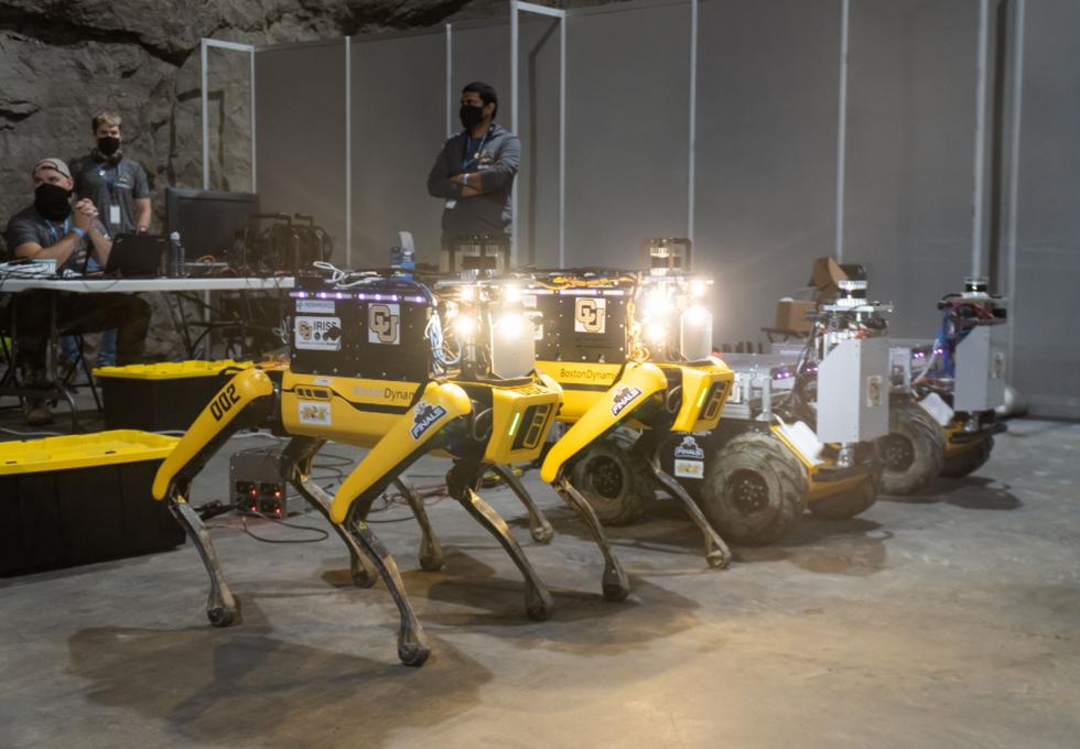 Team MARBLE robots