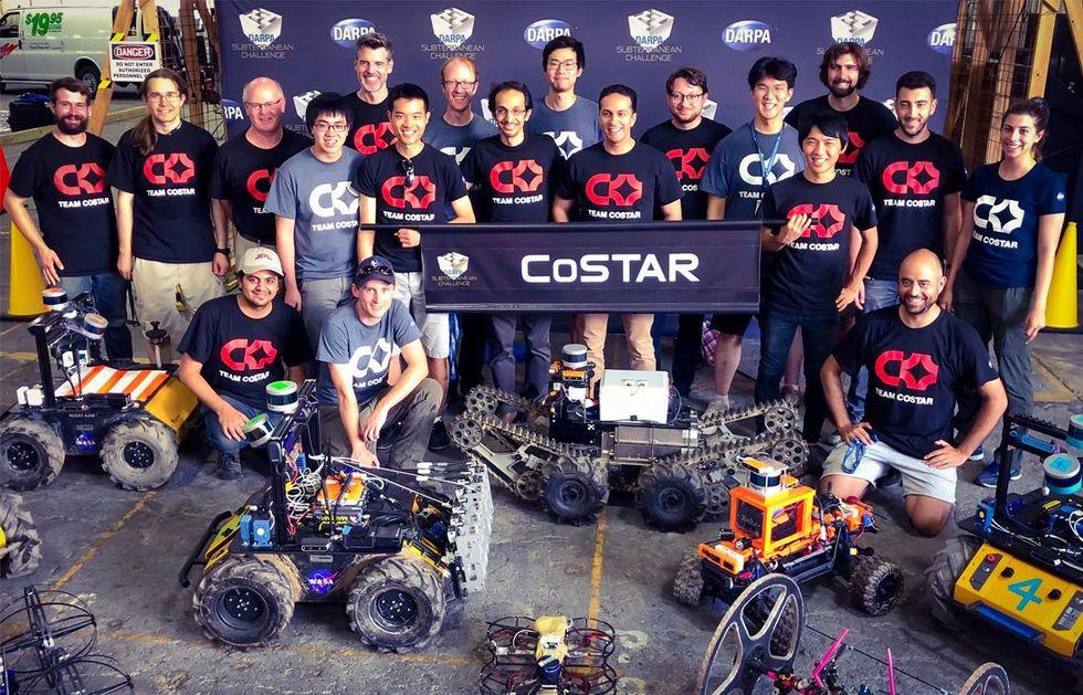 Team CoSTAR robots