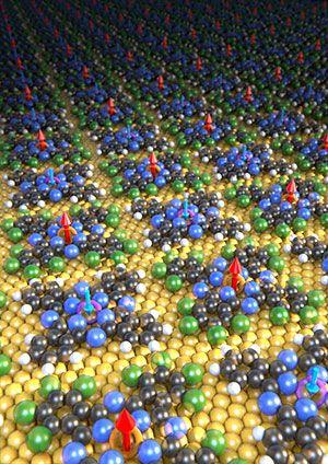 Ferrimagnetic material