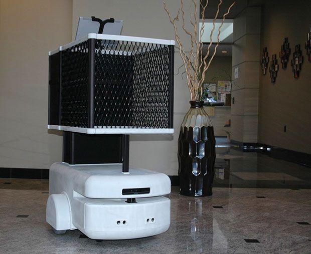 Five Elements Robotics robotic shopping cart