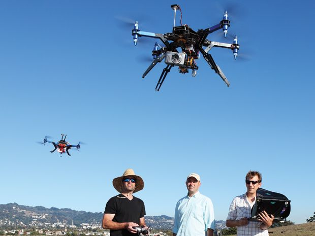 Chris Anderson's Expanding Drone Empire