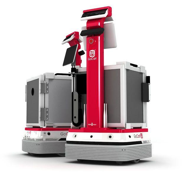 Korean Robotics Company Yujin Developing Food Delivery Robot