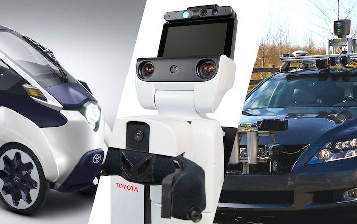 Toyota Announces Major Push Into AI and Robotics, Wants Cars That Never Crash