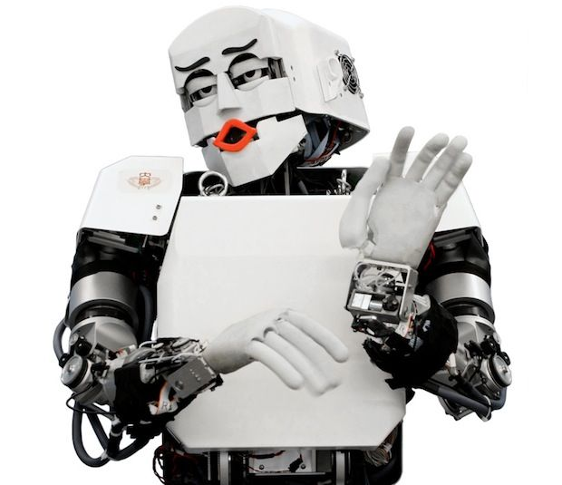 Humanoid Robot KOBIAN Learning to Be a Comedian